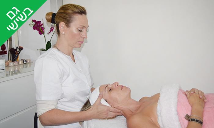 3 טיפולי פנים בקליניקה של ג'ואן אטלי, נתניה