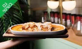 ארוחה איטלקית בקפה גרג