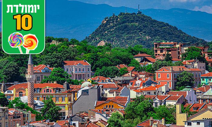 6 טיול מאורגן בבולגריה - ארץ פריחת הוורדים, כולל חגים