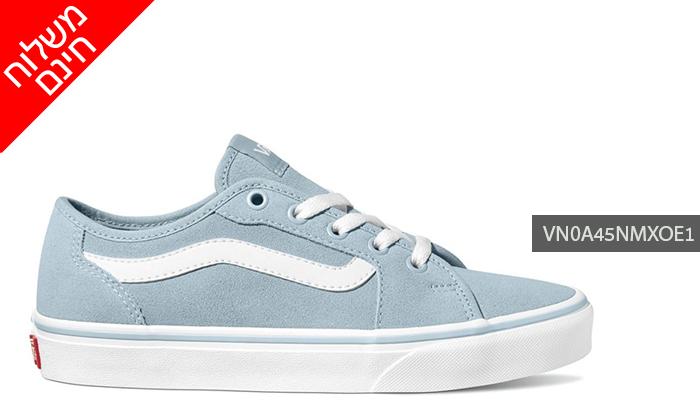 9 נעלי סניקרס לנשים VANS - משלוח חינם לזמן מוגבל