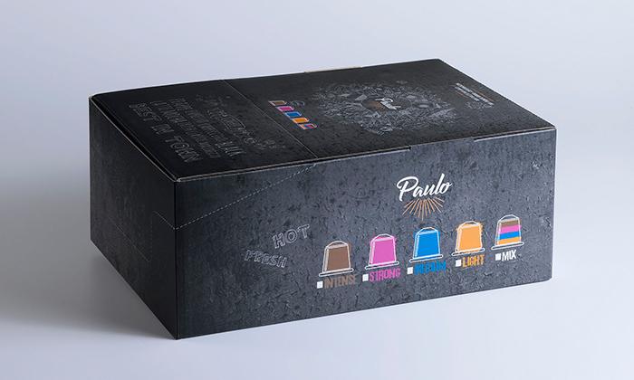 5 100 קפסולות קפה PAULO - כשר