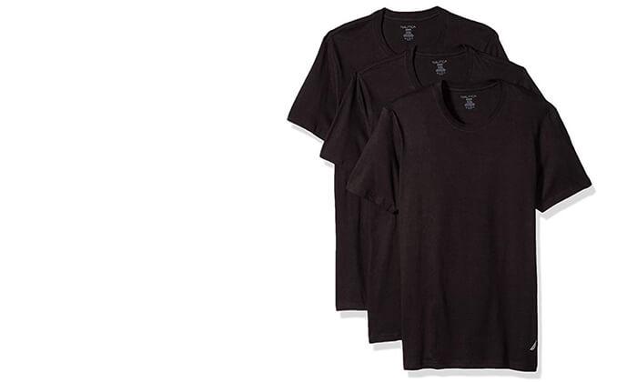 4 מארז 6 חולצות טי-שרט נאוטיקה לגבר