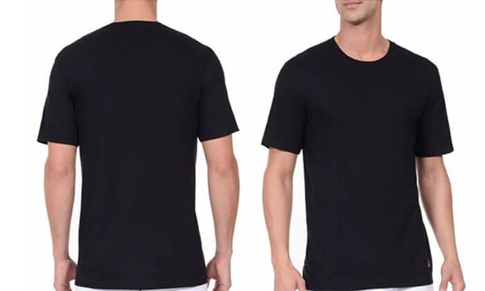 6 מארז 6 חולצות טי-שרט נאוטיקה לגבר