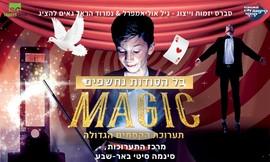 כרטיס לתערוכה MAGIC CITY