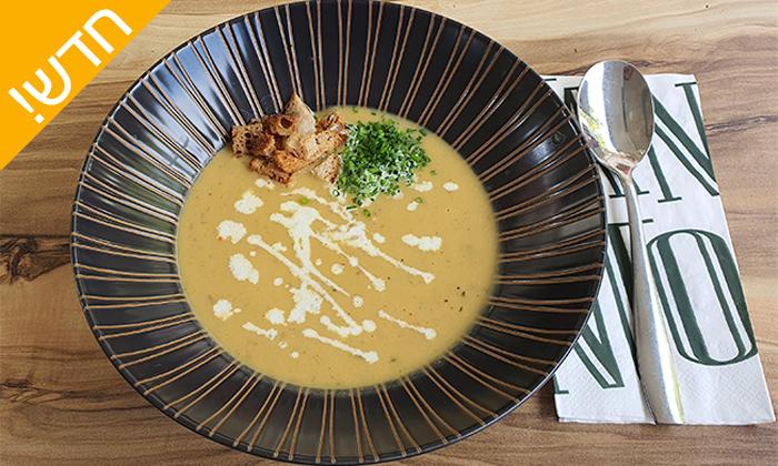 30 ארוחה איטלקית זוגית במסעדת TANTO החדשה בקרית אונו