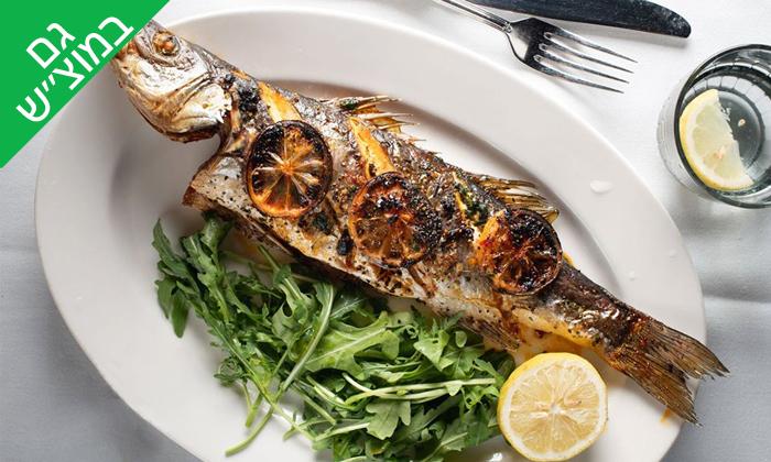 2 ארוחת פרימיום זוגית במסעדת הצדף, ראשון לציון