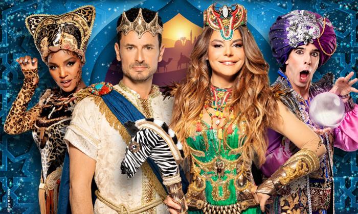 3 שלמה המלך ומלכת שבא - כרטיסים למחזמר עם רינת גבאי וגיא זוארץ