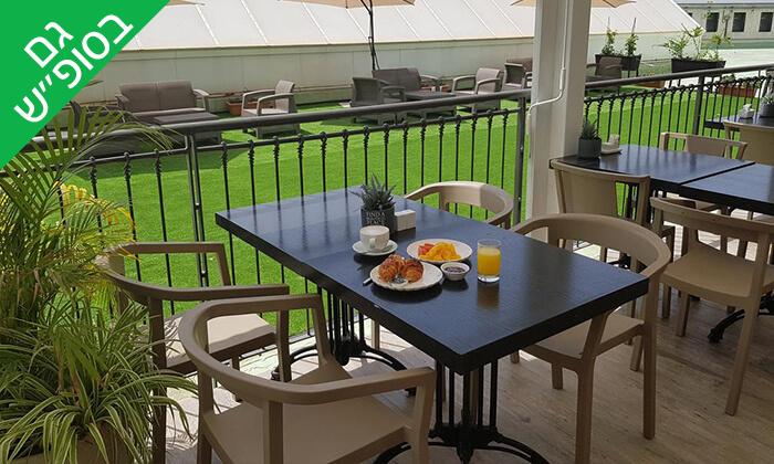 6 ארוחת בוקר בופה במלון Olive, נהריה