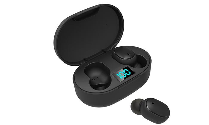 2 אוזניות כפתור Bluetooth