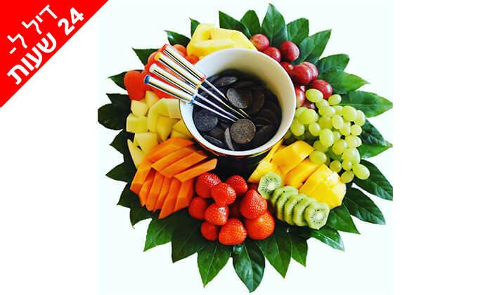 5 הזמנת מגשי פירות אקזוטיים