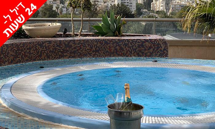 3 דיל ל-24 שעות: חבילת ספא ליחיד במלון לאונרדו סיטי טאוור