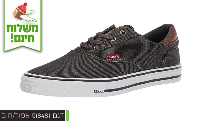 4 נעלי סניקרס לגברים ליוויס LEVIS - משלוח חינם!