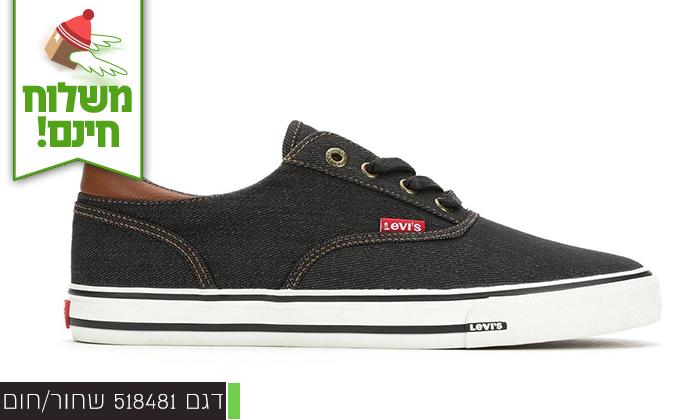 5 נעלי סניקרס לגברים ליוויס LEVIS - משלוח חינם!