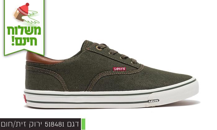 6 נעלי סניקרס לגברים ליוויס LEVIS - משלוח חינם!