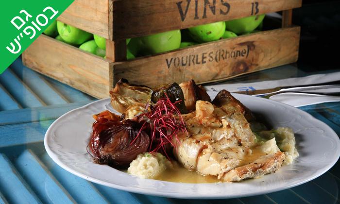 13 מסעדת לימאני ביסטרו, נמל קיסריה - ארוחה זוגית