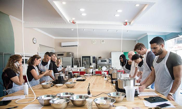 4 סדנאות אפייה וקונדיטוריה במבשלים חוויה - הבית של סדנאות הבישול, תל אביב