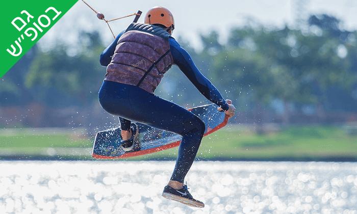 6 סקי מים ב-LAKE TLV, אגם פארק דרום - תל אביב