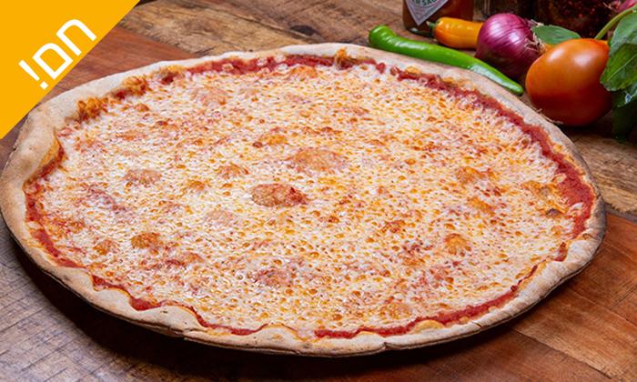 3 פיצה עגבניה - מגש פיצה XL בסניפי הרשת