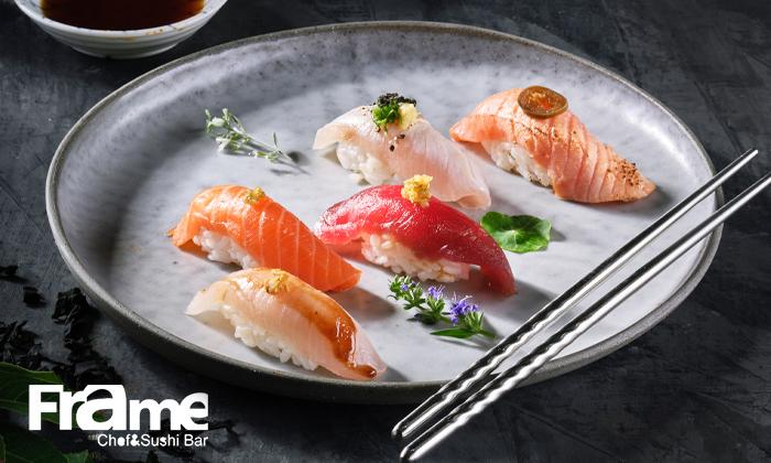 2 פריים שף וסושי בר Frame Chef&Sushibar ברמת החייל - Omakase ארוחת טעימות יפנית