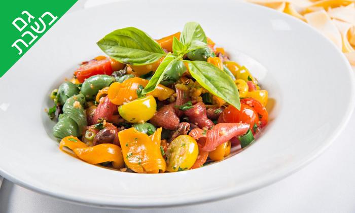 8 טאבולה - מסעדה איטלקית בהרצליה פיתוח: ארוחה זוגית