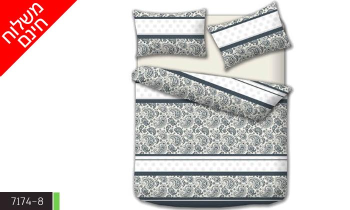 10 סט מצעים זוגי כולל שמיכה - משלוח חינם