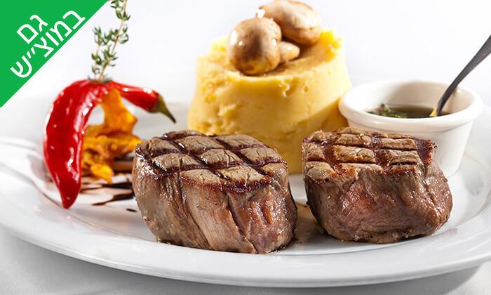 5 מסעדת מדזו Medzzo במרינה הרצליה - ארוחת פלטת בשרים זוגית