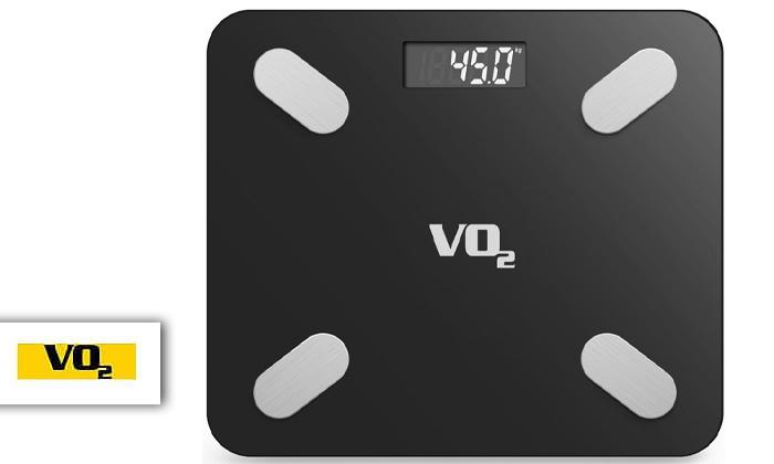 2 משקל חכם VO2 כולל אפליקציה