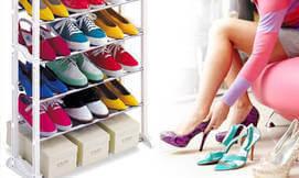 מעמד אחסון נעליים