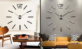 שעון קיר תלת מימדי S003