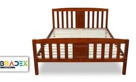 מיטה זוגית מעץ מלא DEYA