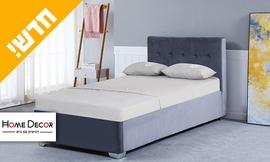 מיטת יחיד עם ארגז מצעים