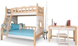 מיטת קומותיים בעיצוב ספינה