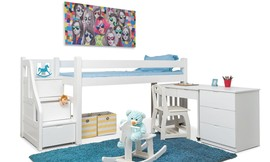 מיטת גלריה לילדים Highwood