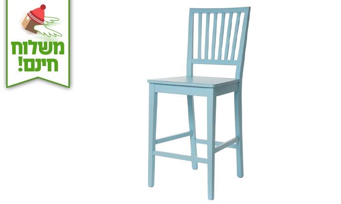 5 ביתילי: כיסא בר דגם אסיינדה - הובלה חינם!