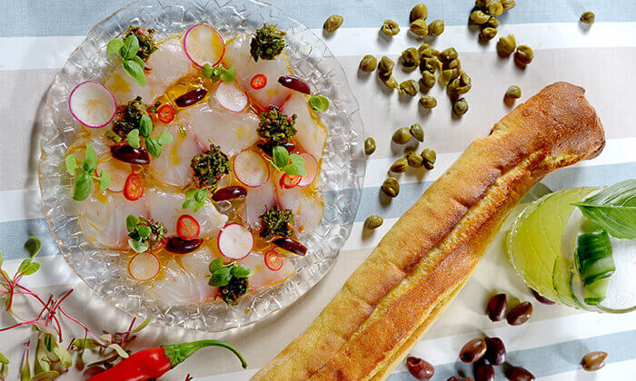 """4 מסעדת טפאו TAPEO הרצליה ות""""א - ארוחת שף זוגית"""