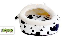 מיטה בצורת פרה לכלב ולחתול