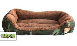 מיטה בעיצוב צבאי לכלב ולחתול