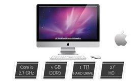 מחשב Apple iMacAIO מסך