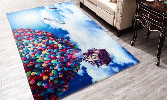 2 שטיחים בעיצובים מיוחדים לילדים