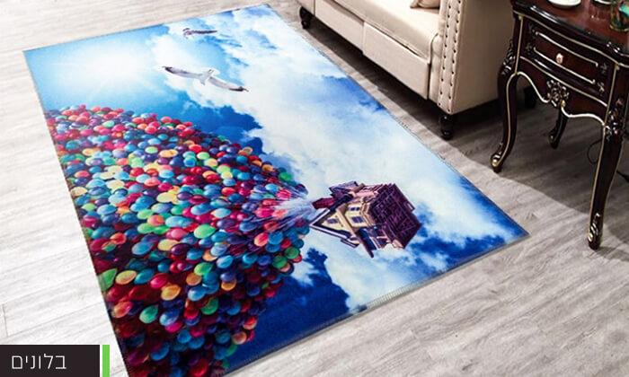 5 שטיחים בעיצובים מיוחדים לילדים