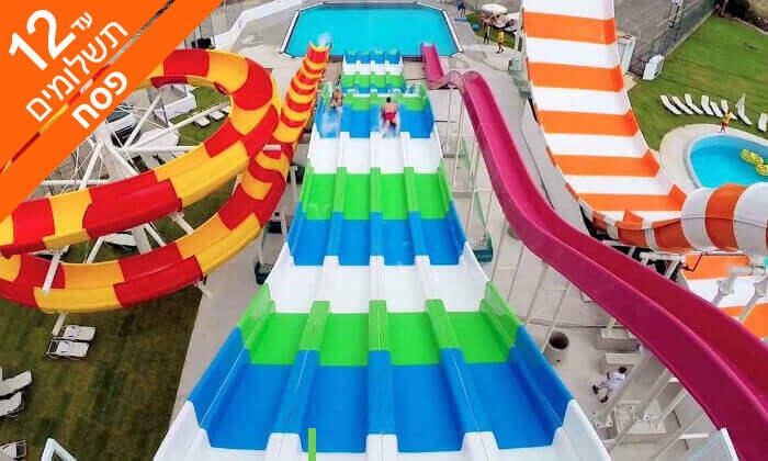 2 פסח הכול כלול בפאפוס - מלון עם פארק מים לכל המשפחה