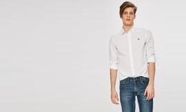 חולצה מכופתרת ארוכה לגברים