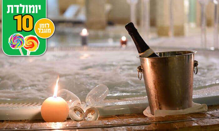 7 חבילת ספא עם עיסוי בספא מלון הוד המדבר, ים המלח