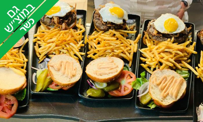 5 ארוחת המבורגר כשרה ב-Giggsi סינמה ספורט בר, באר שבע
