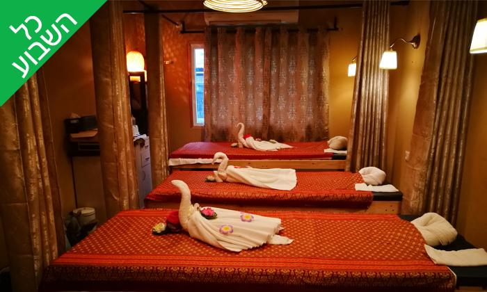 6 עיסוי תאילנדי בסוקוטאי ספא Sukhothai Spa, סמוך לדיזינגוף סנטר תל אביב