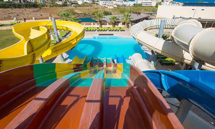 הכול כלול בכרתים למשפחות - מלון עם פארק מים