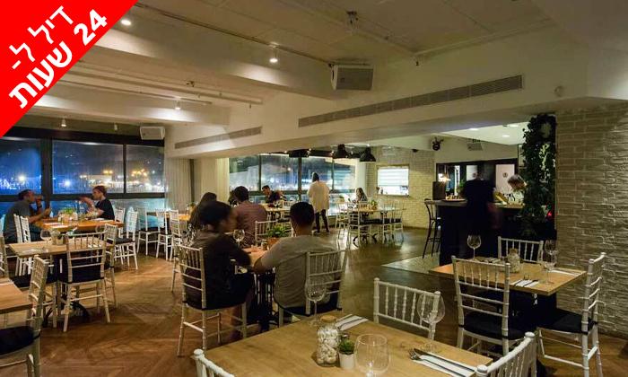 5 דיל ל-24 שעות: קפה קפה סניף נמל תל אביב - ארוחת דגים זוגית בכשרות חתם סופר