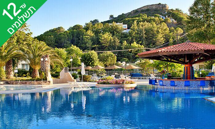 2 אפריל-יוני ברודוס - שמש, חופים ומלון 5* Olympic Palace המומלץ