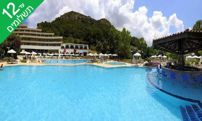 8 אפריל-יוני ברודוס - שמש, חופים ומלון 5* Olympic Palace המומלץ