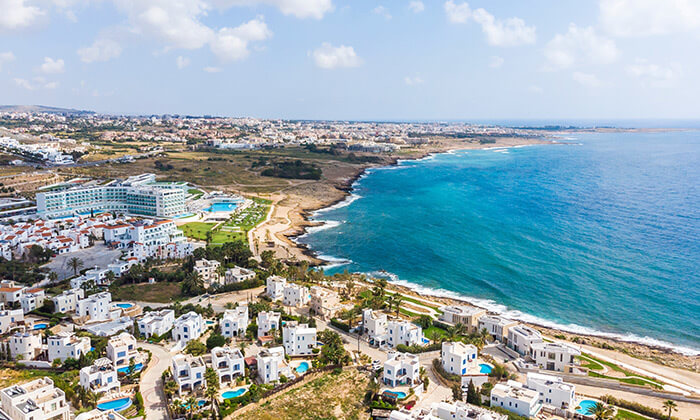 9 חבילת נופש לפאפוס, קפריסין - טיסות מחיפה